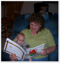 Grammy Reading to Jimmy