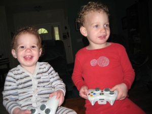 Toddlers Xbox