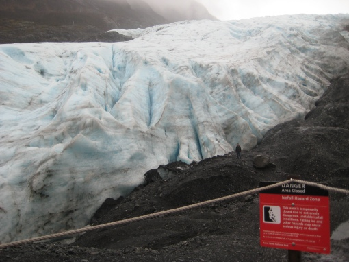 Exit Glacier Warning